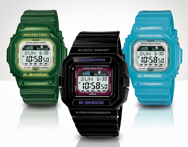 CASIO G-SHOCK G-LIDE May 2009 Collection