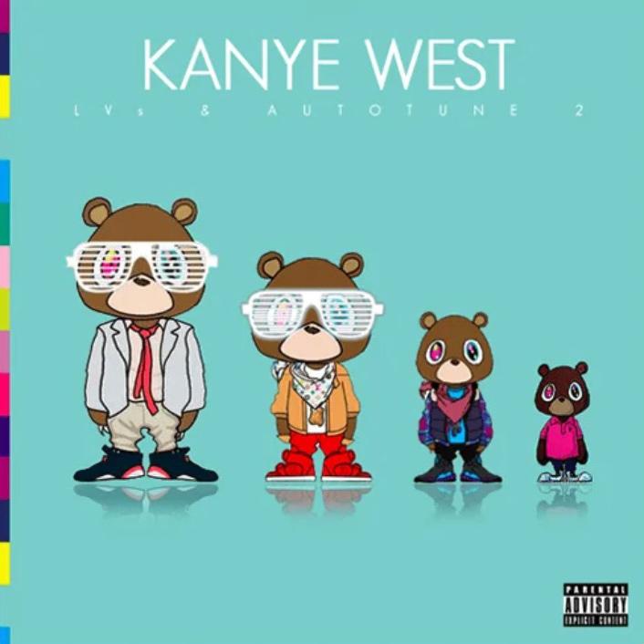 Kanyes LVs & Autotune 2 Mixtape