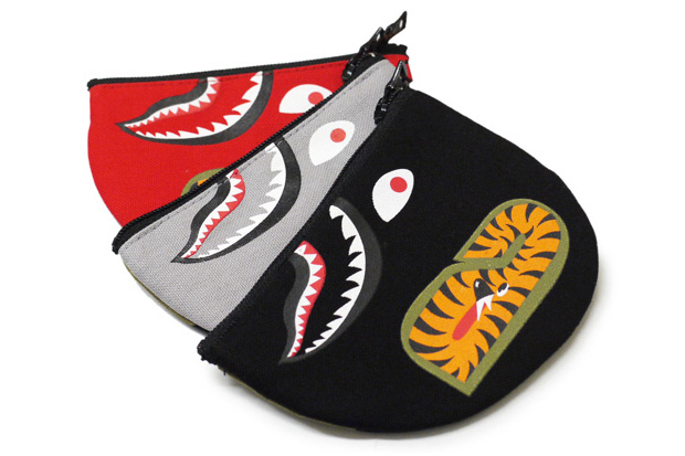 A Bathing Ape Shark Coin Pouch
