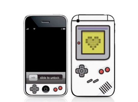 iPhone x Nintendo Gameboy Classic