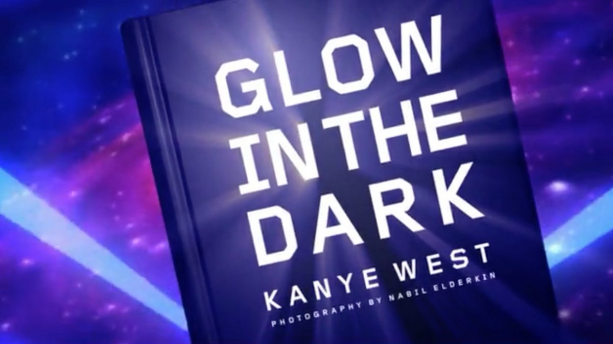 Kanye West - Glow in the dark book promo