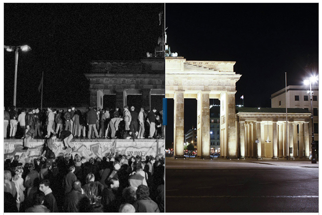 The Berlin Wall - 20 Years later