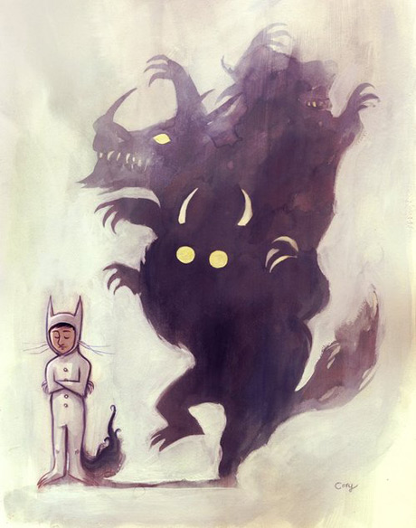 Where the wild things are related art