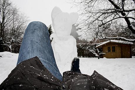 MrPander im ewigen Eis... Oder Schnee