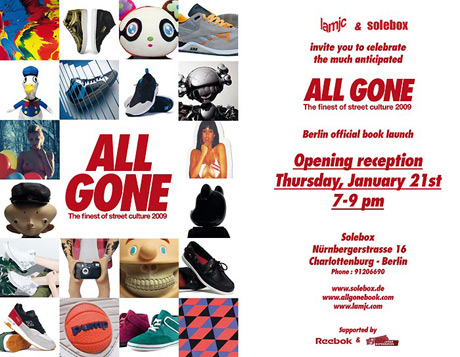 All Gone 2009 – Berlin Launch