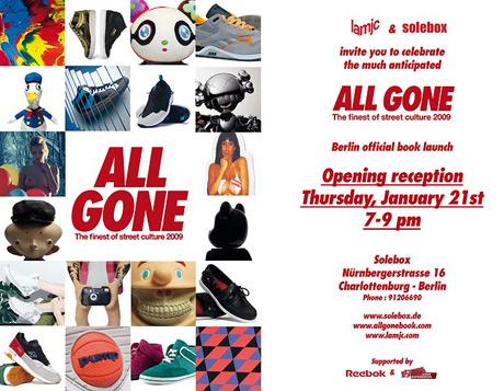 All Gone 2009 – Berlin Launch