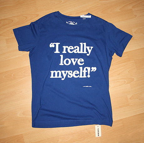"Diesel ""I really love myself!"" T-Shirt"