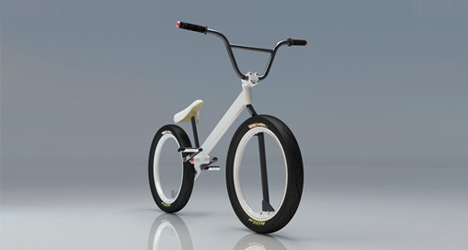 Nikolay Boltachev Hubless BMX Concept
