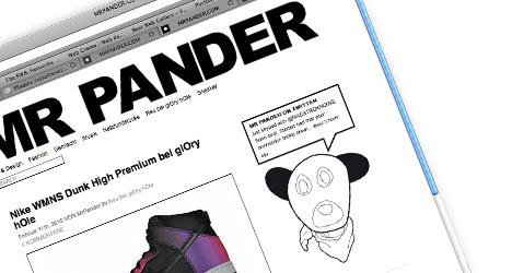 MrPander Relaunch 2010