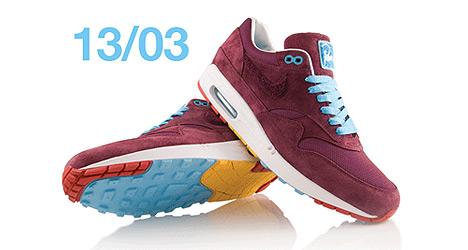 Nike x Parra AIR Max 1 Burgundy