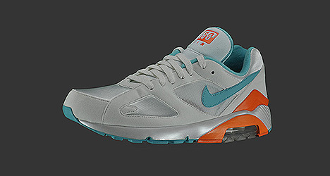 Nike AIR 180 Miami Colphins Colorway