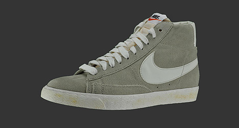 Nike Vintage Blazer High Suede Grey / White