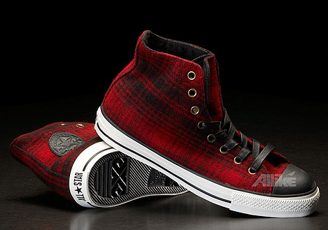 Allike Spring Sale 2010 - Converse All Star High Tex Woolrich