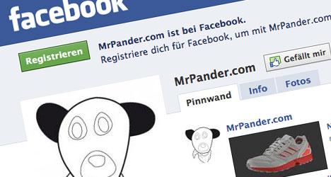MrPander, Facebook und Twitter