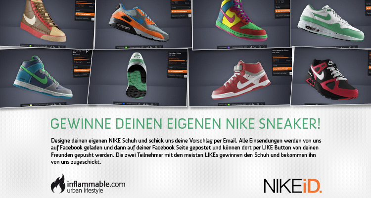 Inflammable x Nike iD Design Contest