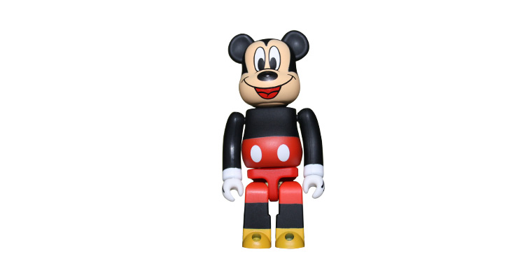 Mickey Mouse 100% Bearbrick