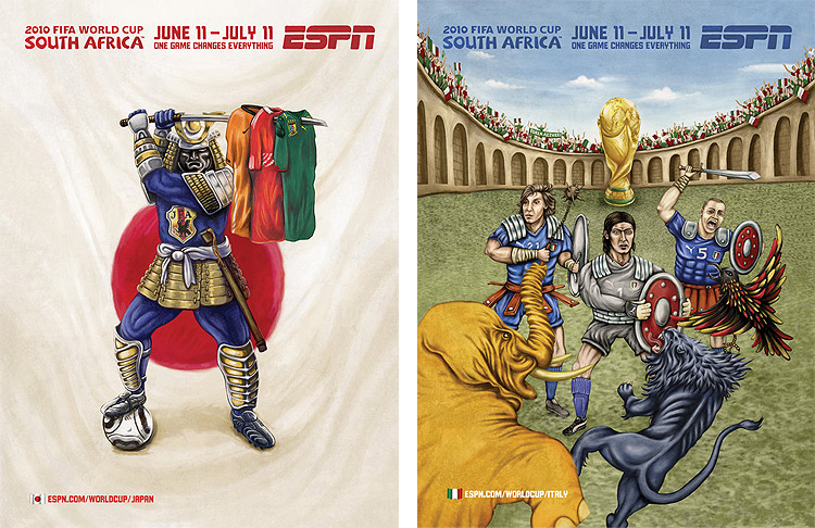ESPN FIFA Worldcup Artworks