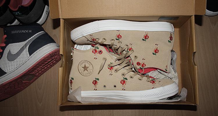 Sneaker Sale - Jordan VI, Converse x Parra
