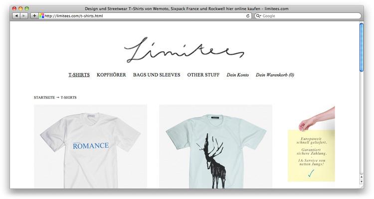 Limitees.com ist zurück