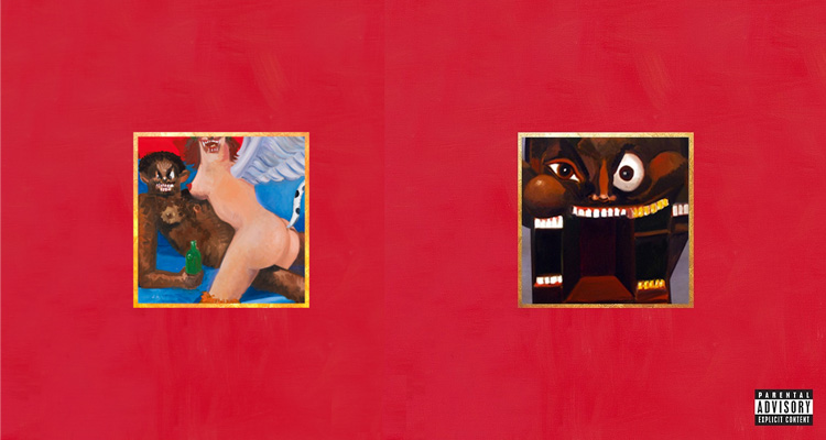 Kanye West - My beautiful dark twisted fantasy - Out now