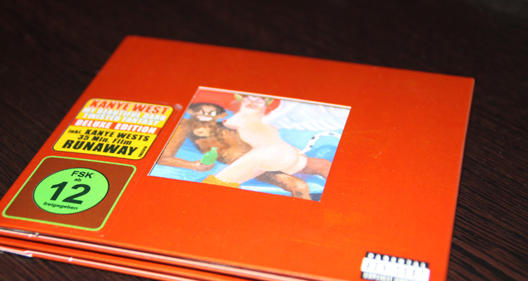 Kanye West – My beautiful dark twisted fantasy – Deluxe Edition