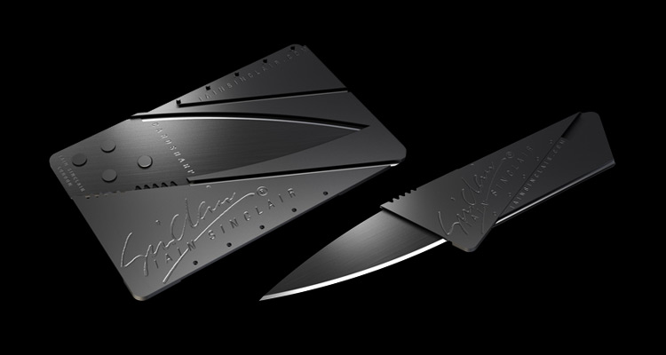 lain Sinclair CardSharp Knife