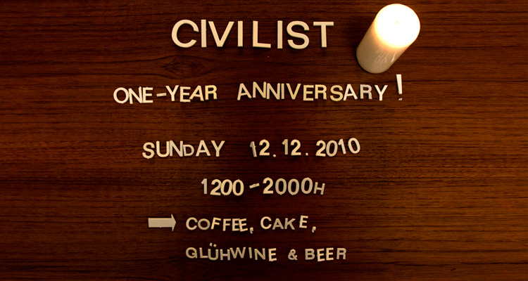 Civilist One-Year Anniversary