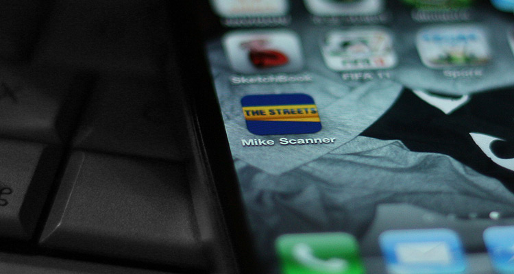 Mike Scanner iPhone App