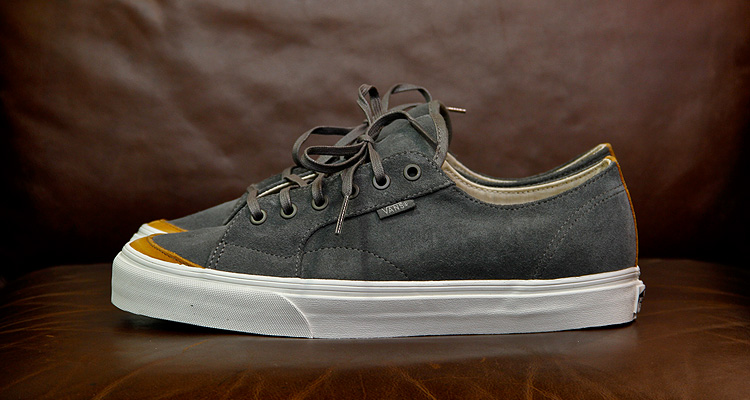 Vans California 31 CA Black & Grey Suede