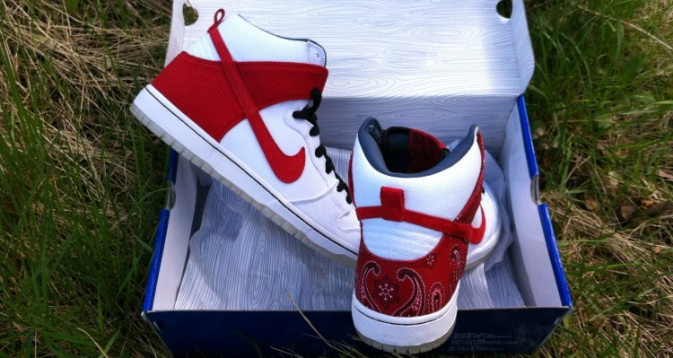 "Nike SB Dunk High – ""Cheech and Chong"" by Todd Bratrud"