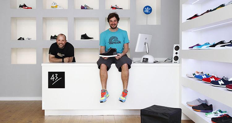 43einhalb Sneakershop Eröffnung