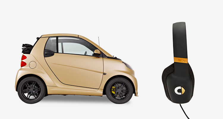 Smart BRABUS tailormade by WeSC