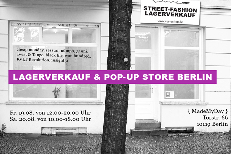 VERVE-SHOP Lagerverkauf Berlin