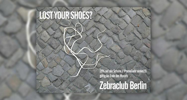 20% auf ALLE Schuhe bei Zebraclub