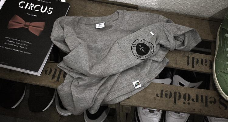 "Firmament & Civilist ""Civilistment"" Shirts"