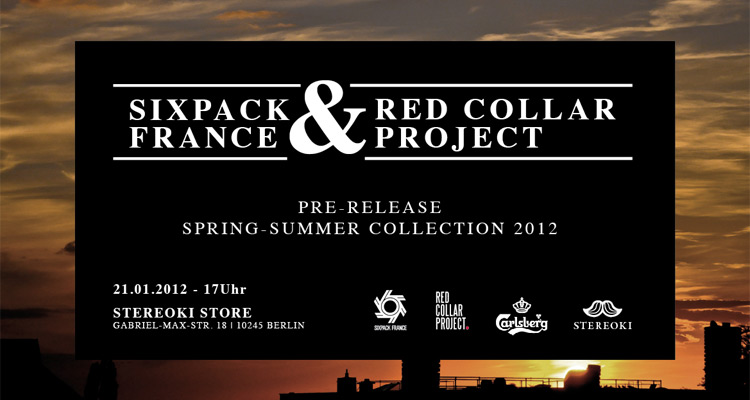 Sixpack France & Red Collar Project Pre-Release bei Stereoki