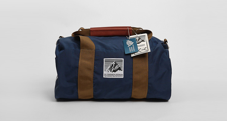 Mt Rainier Design Duffel Bag