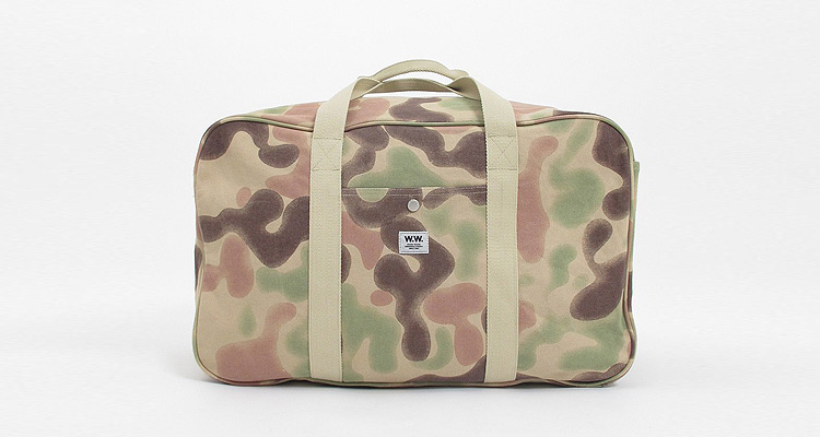 Wood Wood Ali Bag 121 Camo blur