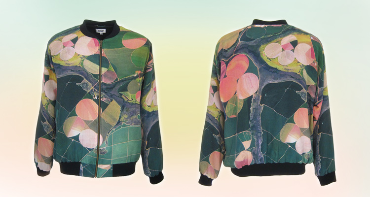 CD BOMBER JACKET by RAPHAEL HAUBER