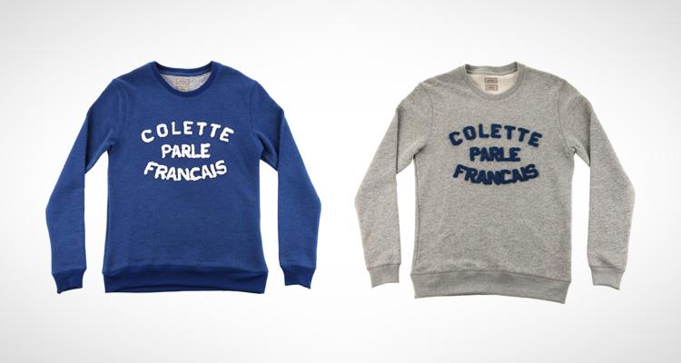 """BWGH x colette """"colette Parle Français"""""""