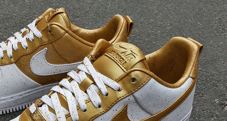 Nike AIR Force 1 Low Supreme TZ Gold Medal XXX