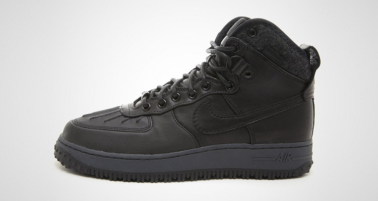 Nike Air Force  1 Duckboot Schwarz 43einhalb