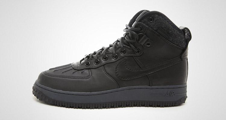 Nike Air Force 1 Duckboot Schwarz 43einhalb