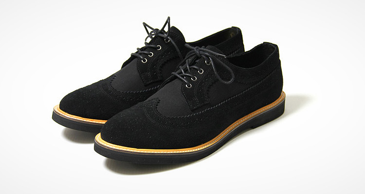 Maiden Noir for Stussy Deluxe Brogue Long Wing