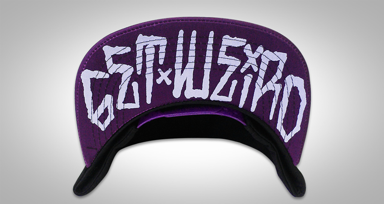 Weirdo Beardo Sulfur Leviathan Cross Snapback