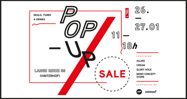 United Hamburg Pop-Up Sale