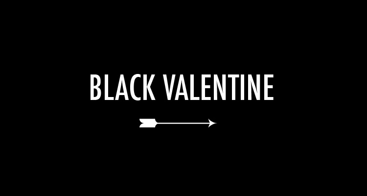 PEARLS & PAPER - BLACK VALENTINE