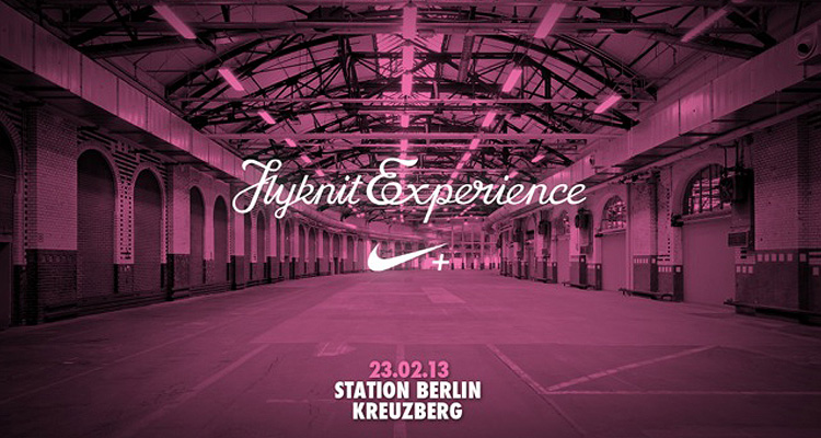 The Nike Flyknit Experience Berlin
