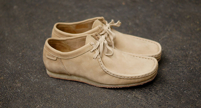 "Clarks Wallabee Run ""Taupe"""