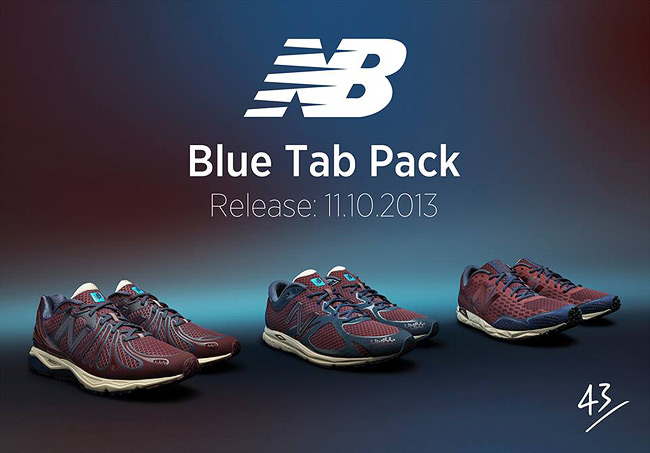 New Balance Blue Tab Pack